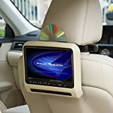 "Power Acoustik PHAD7 7"" LCD Headrest bracket mount DVD player"