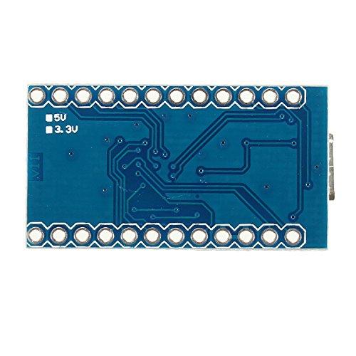 Pro Micro 5V 16M Mini Leonardo Microcontroller Development Board per Arduino ILS