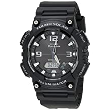 Casio Men's AQS810W-1AVCF Solar Sport Combination Watch