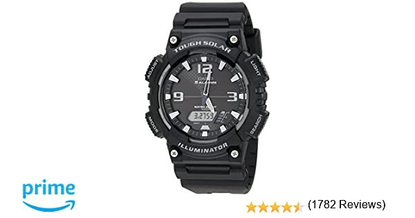 Casio Men's AQ-S810W-1AV Solar Sport Combination Watch