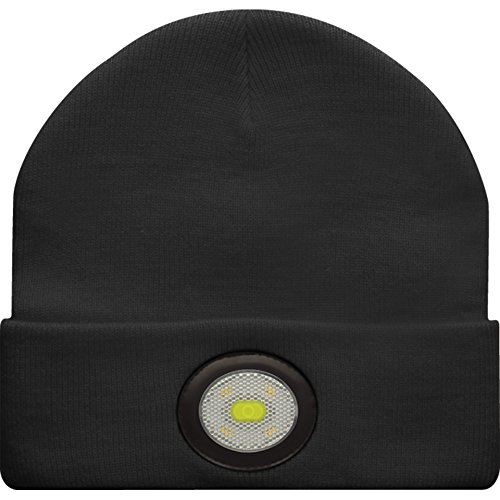 56ceb4448 Unilite BE-02+ USB Rechargeable Beanie Headlight, Black: Amazon.co ...