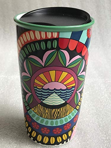 Limited Edition Ceramic - Starbucks + Jessie & Katey Double Walled Ceramic Travel Tumbler Limited Edition
