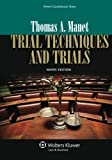 img - for Trial Techniques, Ninth Edition (Aspen Coursebooks) by Thomas A. Mauet (2013-03-25) book / textbook / text book