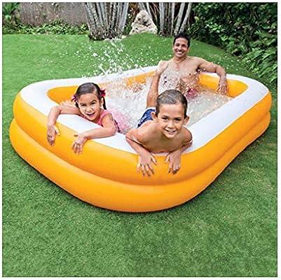 LYM & bañera Plegable Plegable Familia Natación Piscina para niños ...