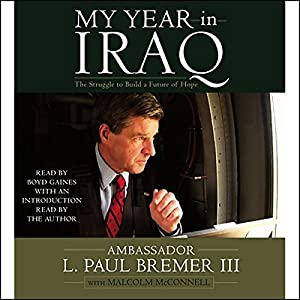 My Year in Iraq Audiobook