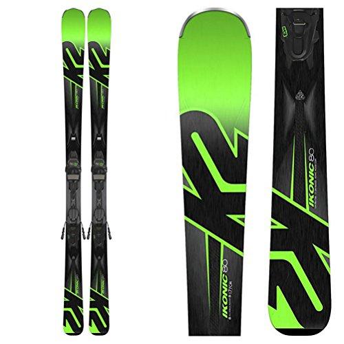 K2 iKonic 80 Ski with M3 10 Binding - 170 (Womens Downhill Skis)