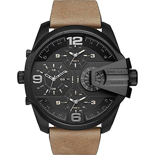 diesel-mens-dz7390-uber-chief-black-ip-brown-leather-watch