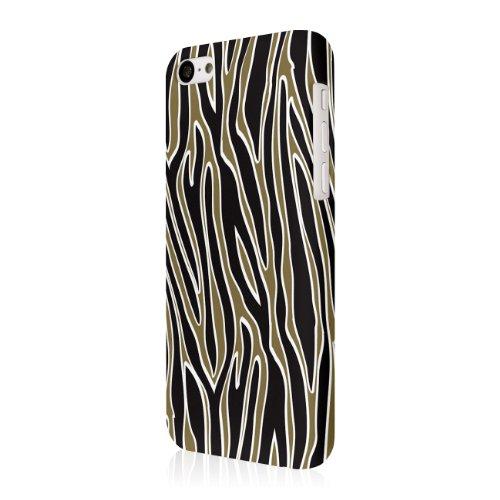 EMPIRE Signature Series One Piece Slim-Fit Case Tasche Hülle for Apple iPhone 5C - Golden Zebra