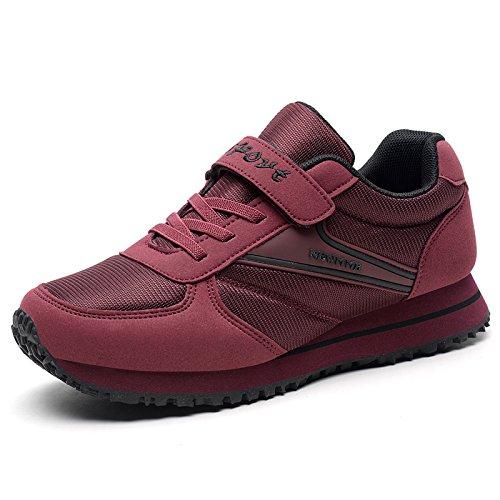 la la Parte Zapatos Primavera de Inferior Deportivos de Antideslizante Las Hasag de Madre Suave dates Señoras Ligeras Deportivas Ocasionales Zapatos Zapatillas Red YCfAv
