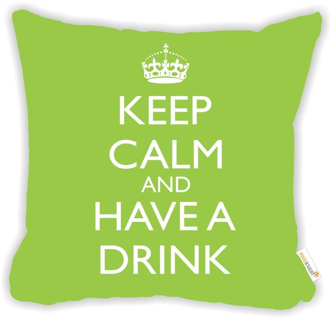Amazon.com: Rikki Tikki knightkeep calma y una bebida rosa ...