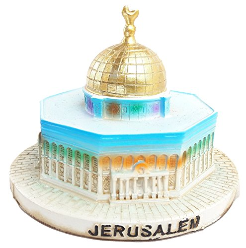 - Jerusalem Model/Statue Holy-Land Miniature Al-Aqsa Mosque.Ceramics