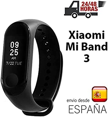 Xiaomi Mi band 3 Miband 3 pulsera inteligente color NEGRO con ...