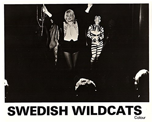 Swedish Wildcats Original Lobby Card Diana Dors Striptease With Whip (Strip Whip)