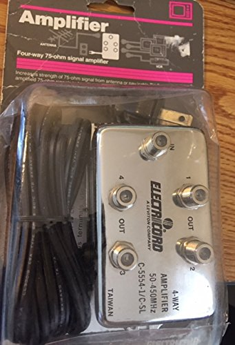 Video Amplifier 4- Way (Leviton Video Amplifier)