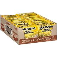 Maruchan Ramen Creamy Chicken Flavor, 3 oz, 24 pack