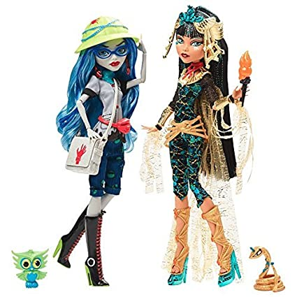 amazon com monster high cleo de nile ghoulia yelps fashion doll