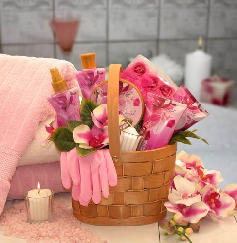 Pretty and Pampered in Pink Spa Gift Basket