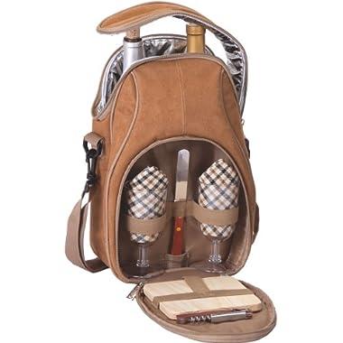 Picnic Plus Brava Wine Cheese Backpack Set