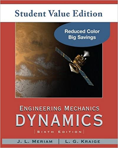 Amazon 2 engineering mechanics dynamics student value amazon 2 engineering mechanics dynamics student value edition 9780470499788 j l meriam l g kraige books fandeluxe Choice Image
