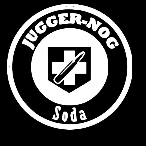 Jugger-Nog Soda Black Ops 3 WHITE Vinyl Car/Laptop/Window/Wall Decal (Soda Boxers compare prices)