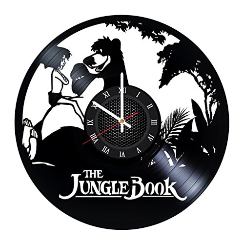 The Jungle Book Cartoon Movie Video Game Handmade Vinyl Reco