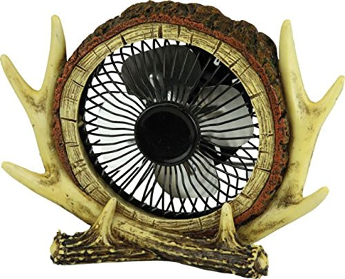 River's Edge Products Antler USB Fan