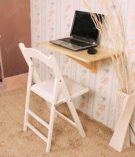 Sobuy mesa plegable de pared mesa de cocina mueble infantil mesa para port til mesa para - Mesa infantil plegable ...