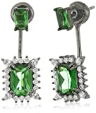 Noir Jewelry Green Alexandra Earring Jackets