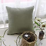 HOMEE Country Style Bedroom Drift Pane Pillow Idyllic Leather Sofa Cushion the Bed Sleeping Pillow,5555