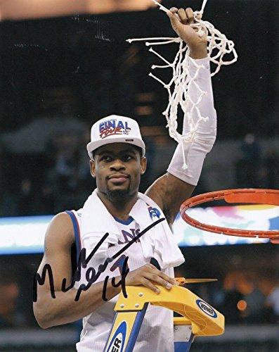 Malik Newman Autographed Photo - KANSAS JAYHAWKS Basketball NBA 8X10 W COA #6 - Autographed College Photos