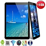 Hanbaili AU Plug 9 Touch Screen Tablet PC, 1.2GHz Android 4.4.2 Operating System Support WiFi 16001200 Photo Resolution Comes with a Keyboard Case