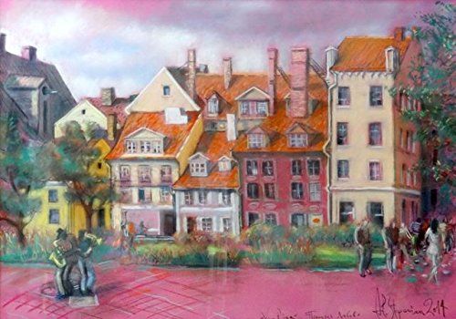 Old City. Livonian square by
