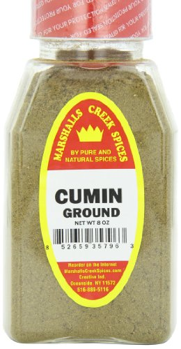Marshalls Creek Spices Cumin Ground Seasoning, 8 Ounce (Pack of 12) by Marshall's Creek Spices