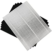 Replacement for Winix 115115 Filter A True HEPA filter + 4 Carbon Pre-Filters