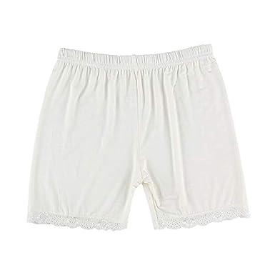 cinnamou Pantalones Mujer, Pantalones Cortos De Encajes Color ...