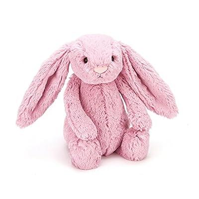 Jellycat Bashful Pink Tulip Bunny Stuffed Animal