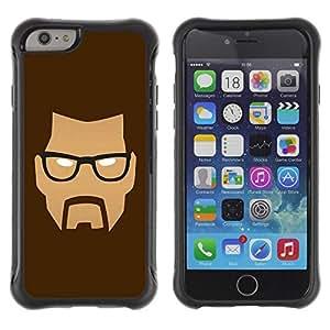 Suave TPU GEL Carcasa Funda Silicona Blando Estuche Caso de protección (para) Apple Iphone 6 / CECELL Phone case / / Mad Face /