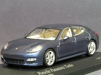 [MINICHAMPS / Minichamps] 1/43 Porsche Panamera Turbo 2009 Blue Metallic