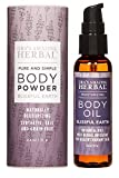 Talc Free Powder and Body Oil, Lavender Bath