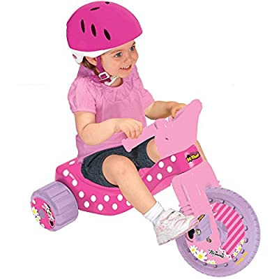 Disney Big Wheel Junior Racer Minnie Mouse Ride On: Toys & Games