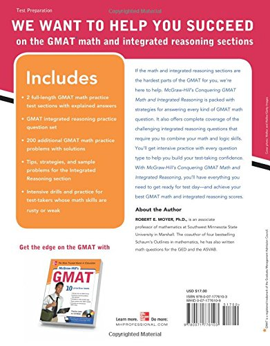 Buy McGraw-Hills Conquering the GMAT Math and Integrated Reasoning