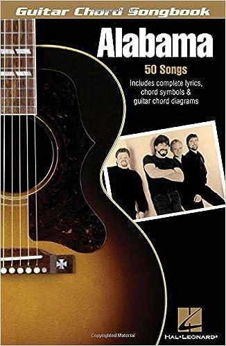 Amazon Guitar Chord Songbook Alabama Guitar Chord Songbooks