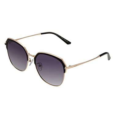 f35d18fbdfbd JOJEN Polarized Vintage Round Sunglasses for Women Men UV400 Protection TAC  Lens TR90 Ultralight Frame JE017