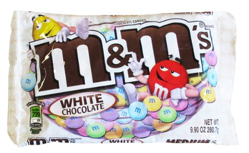 M&M's White Chocolate Candy 8 ounces