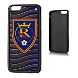 Keyscaper MLS Real Salt Lake Wave Bump Case for iPhone 6 Plus, Black