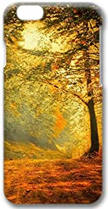 Autumn Forest Road Apple iPhone 6 Case, 3D iPhone 6 Cases Hard Shell Cover Skin Casess