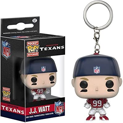 FUNKO JJ Watt Key Chain Multicolor - Funda (Llavero, Multicolor, Vinilo, Figura, 3 año(s))
