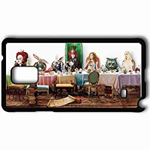 Personalized Samsung Note 4 Cell phone Case/Cover Skin Alice in wonderland2010 movies Black