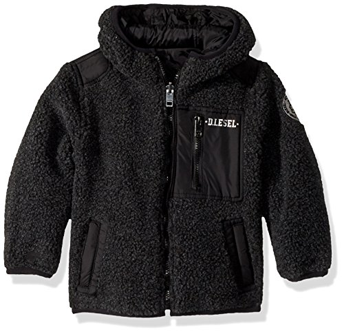 - Diesel Boys' Big Outerwear Jacket (More Styles Available), Reversible/Black, 8