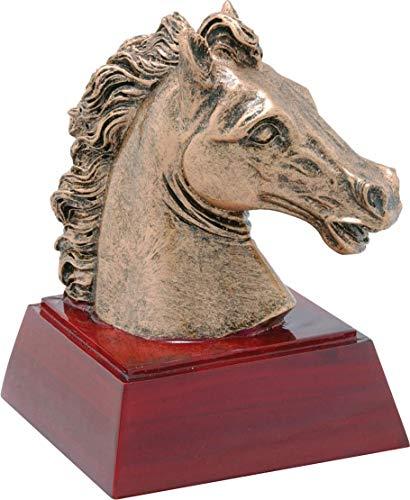 - Trophy Crunch Mustang or Horse Mascot School Gift & Award - Free Custom Engraving